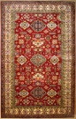 R8838 Handmade Transitional Kazak Rugs
