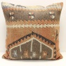 XL19 Large Turkish Kilim Cushion Cover