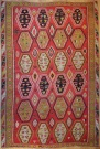 R7099 Large Turkish Kilim Rug