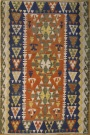 R4247 New Turkish Kayseri Kilim Rug