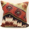XL444 Oriental Turkish Kilim Cushion Covers
