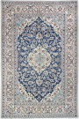 R8460 Persian Silk and wool Nain Carpets