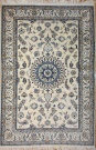 R8616 Persian Silk and wool Nain Rugs
