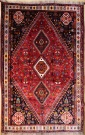 R9376 Antique Persian Qashqai Carpet