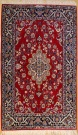 R9375 Persian Silk and Wool Isfahan Rug