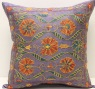 C3 Silk Suzani Cushion Cover