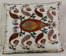 C18 Silk Suzani Cushion Cover