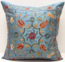 C34 Silk Suzani Cushion Cover