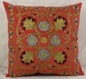 C35 Silk Suzani Cushion Cover