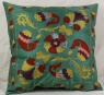 C36 Silk Suzani Cushion Cover