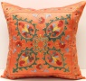 C51 Silk Suzani Cushion Cover