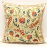 C52 Silk Suzani Cushion Cover