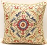 C89 Silk Suzani Cushion Cover