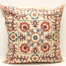 C45 Silk Suzani Pillow Cover