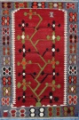 R7093 Small Turkish Kilim Rug