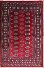 R8640 Traditional Pakistan Bokhara Rug