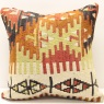 M401 Turkish Anatolian Hand Woven Kilim Cushion Cover