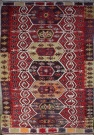 F801 Turkish Emirdag Kilim Rug