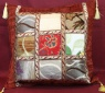 T16 Turkish fabric Patchwork Cushion Covers