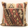 XL376 Turkish Kilim Cushion Cover