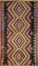 R7168 Turkish Kula Kilim Rug