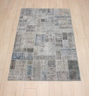 R8992 Turkish Vintage Overdyed Patchwork Rugs