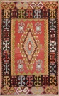 R6333 Vintage Cal Turkish Kilim