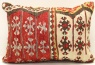 D208 Vintage Kilim Lumbar Pillow Cover