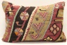 D205 Vintage Kilim Lumbar Pillow Covers