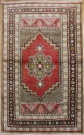 R3729 Vintage Kirsehir Turkish Rug