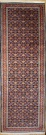 Vintage Persian Carpet Runner R8613