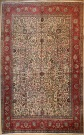R3222 Vintage Persian Tabriz Carpet
