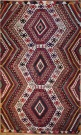 R7173 Vintage Turkish Antalya Kilim Rug
