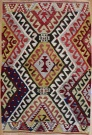 R7882 Vintage Turkish Antalya Kilim Rug