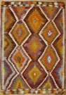 Vintage Turkish Antalya Kilim Rug R8020