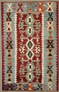 Vintage Turkish Esme Kilim Rugs R7841