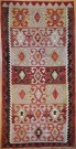 R4647 Vintage Turkish Kelim Rug
