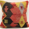 M912 Vintage Turkish Kilim Cushion Cover