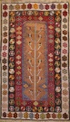 R9401 Vintage Turkish Kilim Rug