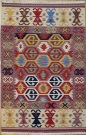 R6904 Vintage Turkish Kilim Rug