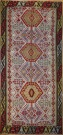 R8051 Vintage Turkish Kilim Rug