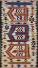 R8053 Vintage Turkish Kilim Rug
