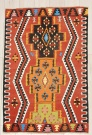 R8054 Vintage Turkish Kilim Rug