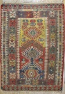 R8106 Vintage Turkish Kilim Rug