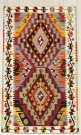 R8061 Vintage Turkish Kilim Rug