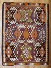 R8131 Vintage Turkish Kilim Rug