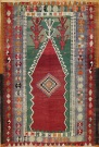 R8180 Vintage Turkish Kilim Rug