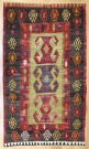 R8187 Vintage Turkish Kilim Rug