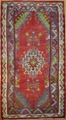 R8508 Vintage Turkish Kilim Rug