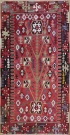 R8709 Vintage Turkish Kilim Rug